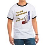 2nd Amendment Gun Permit Ringer T