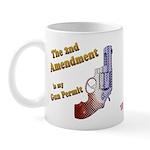 2nd Amendment Gun Permit Mug