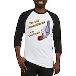2nd Amendment Gun Permit Baseball Jersey