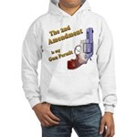 2nd Amendment Gun Permit Hooded Sweatshirt