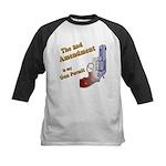 2nd Amendment Gun Permit Kids Baseball Jersey