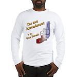 2nd Amendment Gun Permit Long Sleeve T-Shirt