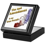 2nd Amendment Gun Permit Keepsake Box