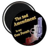 2nd Amendment Gun Permit Magnet