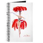 Luma Rouge Burlesque Showgirl Journal