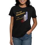 2nd Amendment Gun Permit Women's Dark T-Shirt