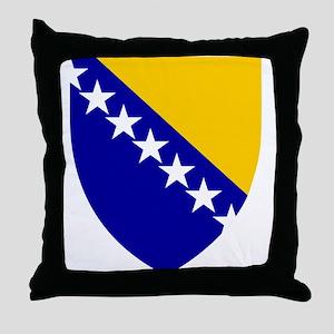 Bosnia and Herzegovina Coat Throw Pillow