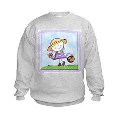 Garden Girl Sweatshirt