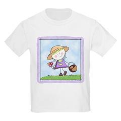 Garden Girl Kids T-Shirt