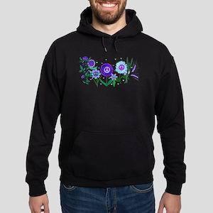 Growing Peace Hoodie (dark)