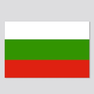 Bulgaria Flag Postcards (Package of 8)