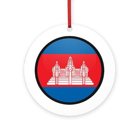 Cambodia Ornament (Round)