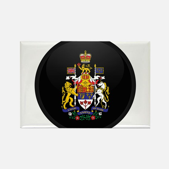 Coat of Arms of Canada Rectangle Magnet
