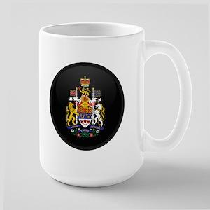 Coat of Arms of Canada Large Mug