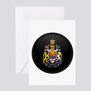 Coat of Arms of Canada Greeting Card