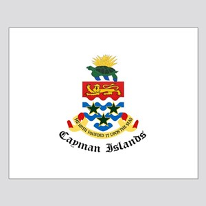 Caymanian Coat of Arms Seal Small Poster