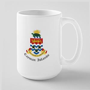 Caymanian Coat of Arms Seal Large Mug