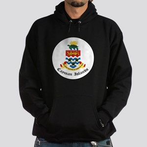 Caymanian Coat of Arms Seal Hoodie (dark)