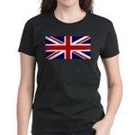 Union Jack Women's Dark T-Shirt