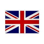 Union Jack Rectangle Magnet (100 pack)
