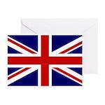 Union Jack Greeting Cards (Pk of 10)