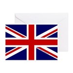 Union Jack Greeting Cards (Pk of 20)