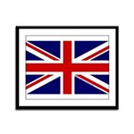 Union Jack Framed Panel Print