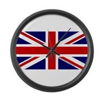 Union Jack Large Wall Clock