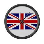Union Jack Large Wall Clock