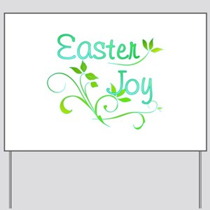 Easter Yard Sign