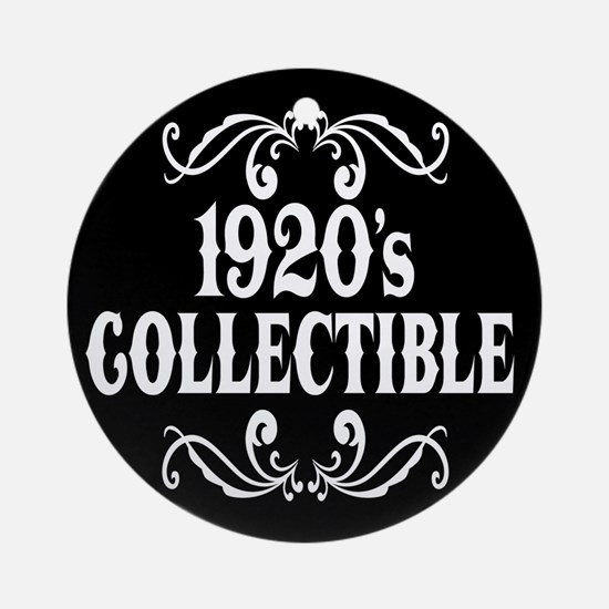 1920's Collectible Birthday Ornament (Round)