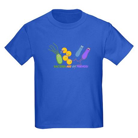 Bacteria are My Friends Kids Dark T-Shirt