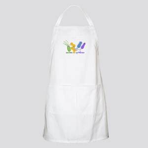 Bacteria are My Friends BBQ Apron