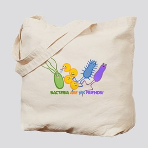 Bacteria are My Friends Tote Bag