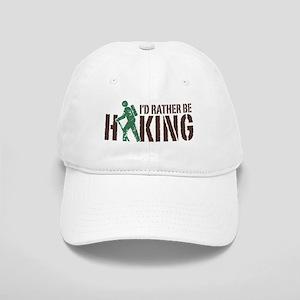 I'd Rather Be Hiking Cap