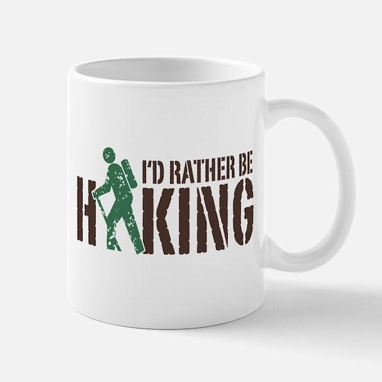 I'd Rather Be Hiking Mug