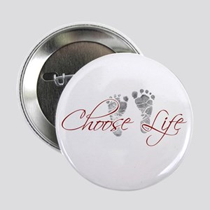 "Choose Life 2.25"" Button (10 pack)"