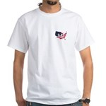 9-12 Small Logo White T-Shirt