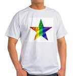 RAINBOW FLAG Ash Grey T-Shirt