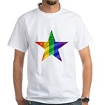 RAINBOW FLAG White T-Shirt