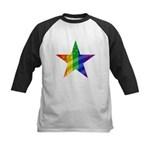 RAINBOW FLAG Kids Baseball Jersey