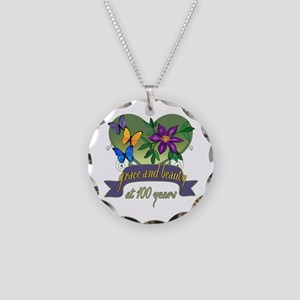 100th Birthday Grace Necklace