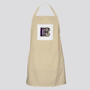 Bass Clef in Metal BBQ Apron