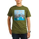 Shark Knight Organic Men's T-Shirt (dark)
