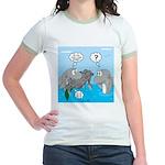 Shark Knight Jr. Ringer T-Shirt