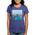 Shark Knight Womens Tri-blend T-Shirt