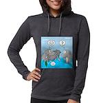Shark Knight Womens Hooded Shirt