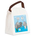 Shark Knight Canvas Lunch Bag