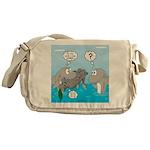 Shark Knight Messenger Bag