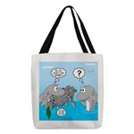 Shark Knight Polyester Tote Bag